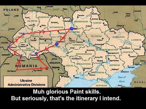 Fund my tour to Western Ukraine! [gib shekelim]