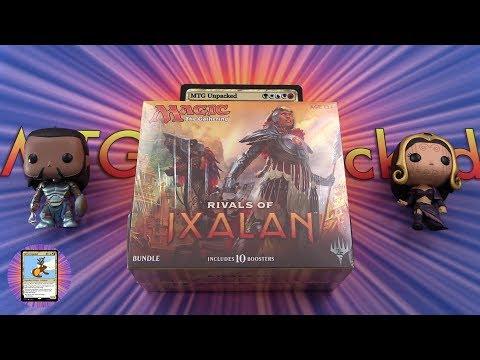 Rivals of Ixalan Bundle #2 unboxing + Giveaway!