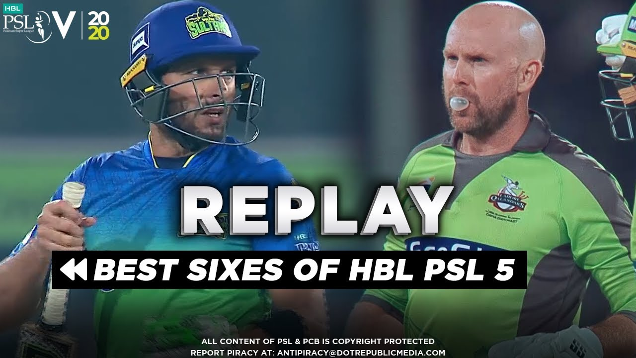 Best Sixes Of HBL PSL 5 | HBL PSL 2020