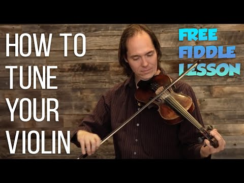 how to tune your violin - free lesson