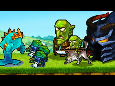 Goblin Horde And Army Of Monsters Clash For Castles In KINGDOM WARS