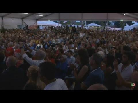 Pd, Matteo Renzi alla Festa dell'Unità di Ravenna