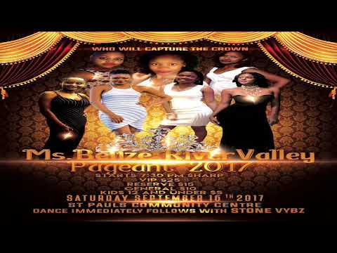 The Zenaida Moya Show, Episode 30 - 3rd Annual Miss Belize River Valley Pageant Candidates