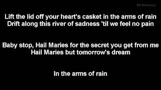 HIM - In the arms of rain lyrics