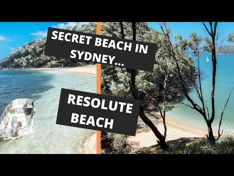 BEST SECRET BEACH IN SYDNEY: Resolute Beach
