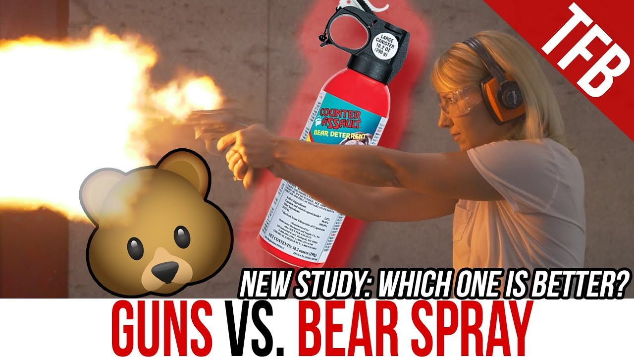So...Are Guns or Bear Spray More Effective Against Grizzlies? (Guns vs. Bears, Episode 3)