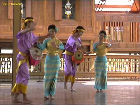 Olaf in Thailand / Episode 47: Bangkok - Wimanmek-Palast / Vimanmek Mansion (Palace) Thai Dance 5