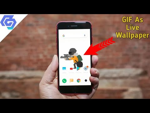 How To Convert GIF Into An Live Wallpaper - YouTube