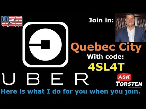 Uber Quebec City promo code, Uber Quebec City referral bonus, retroactive bonus and tips