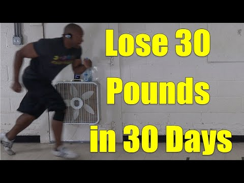 30 min. Weight Loss HIIT Running & Jumping Jack Workout