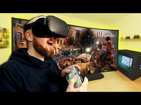 Virtual Desktop Oculus Quest! Remotely Access Your PC In Virtual Reality