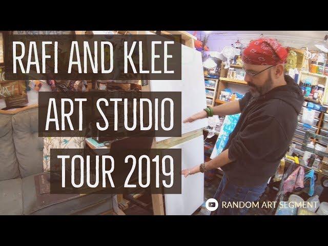 Rafi And Klee Art Studio Tour 2019