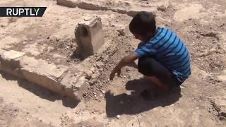Городской парк превратился в кладбище в сирийском Дейр эз-Зоре