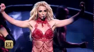 Britney Spears Red Hot Opening Billboard Music Awards 2016  ET Online