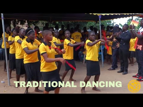 Traditional African Culture Dancing & Drumming ~ Akpafu (Gha