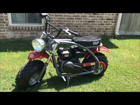 Coleman BT200X Mini Bike Mods (Get Your Mini Bike To Go 31+ MPH)