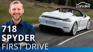 2019 Porsche 718 Spyder Review - First Drive   carsales