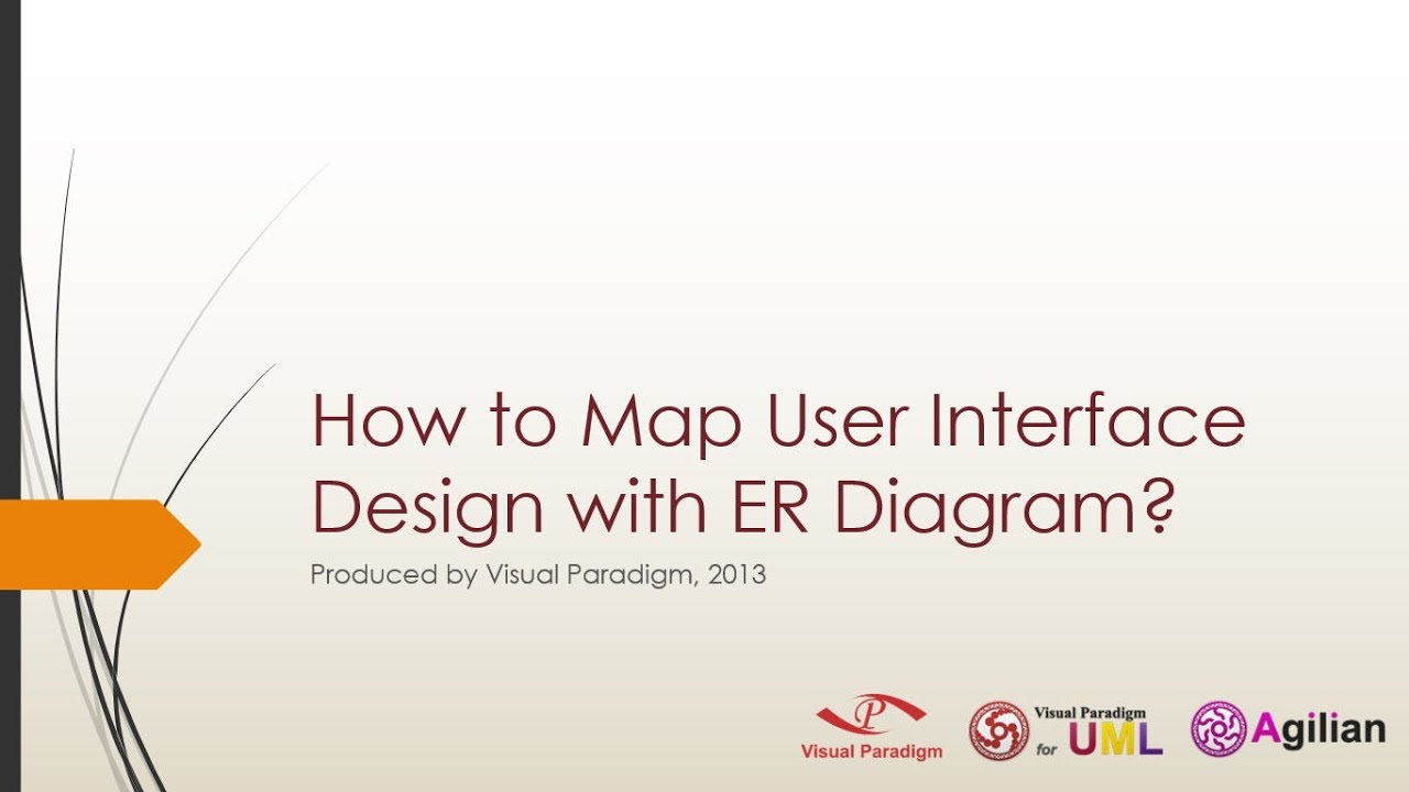 How to Map User Interface Design with ER Diagram?  YouTube