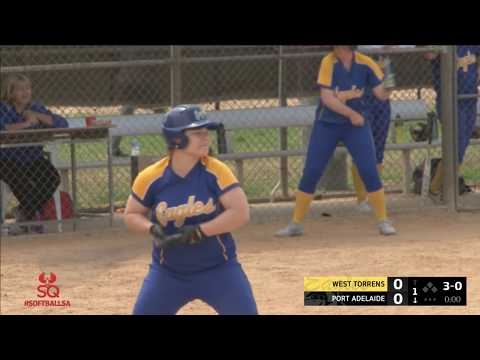 West Torrens vs Port Adelaide | Softball SA