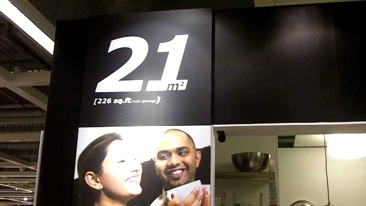 Ikea 21 Square Meters House Youtube