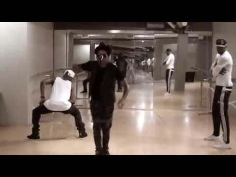 "Nathan Davis Jr ""Part Of Me"" Dance Rehearsal (choreographed by Joel Daley)"