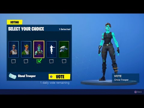 *NEW* ITEM SHOP VOTING SYSTEM In Fortnite! (OG SKINS)
