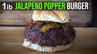 Jalapeno Popper Cheeseburger by the BBQ Pit Boys