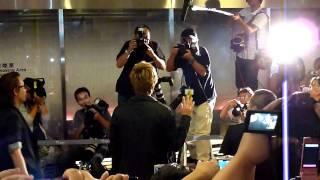 2011年9月17日 羽田お迎えの様子です。