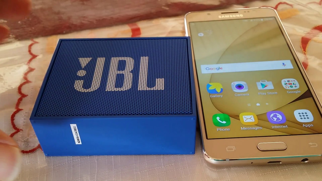 How to pair JBL GO Bluetooth Speaker to Samsung Android phone