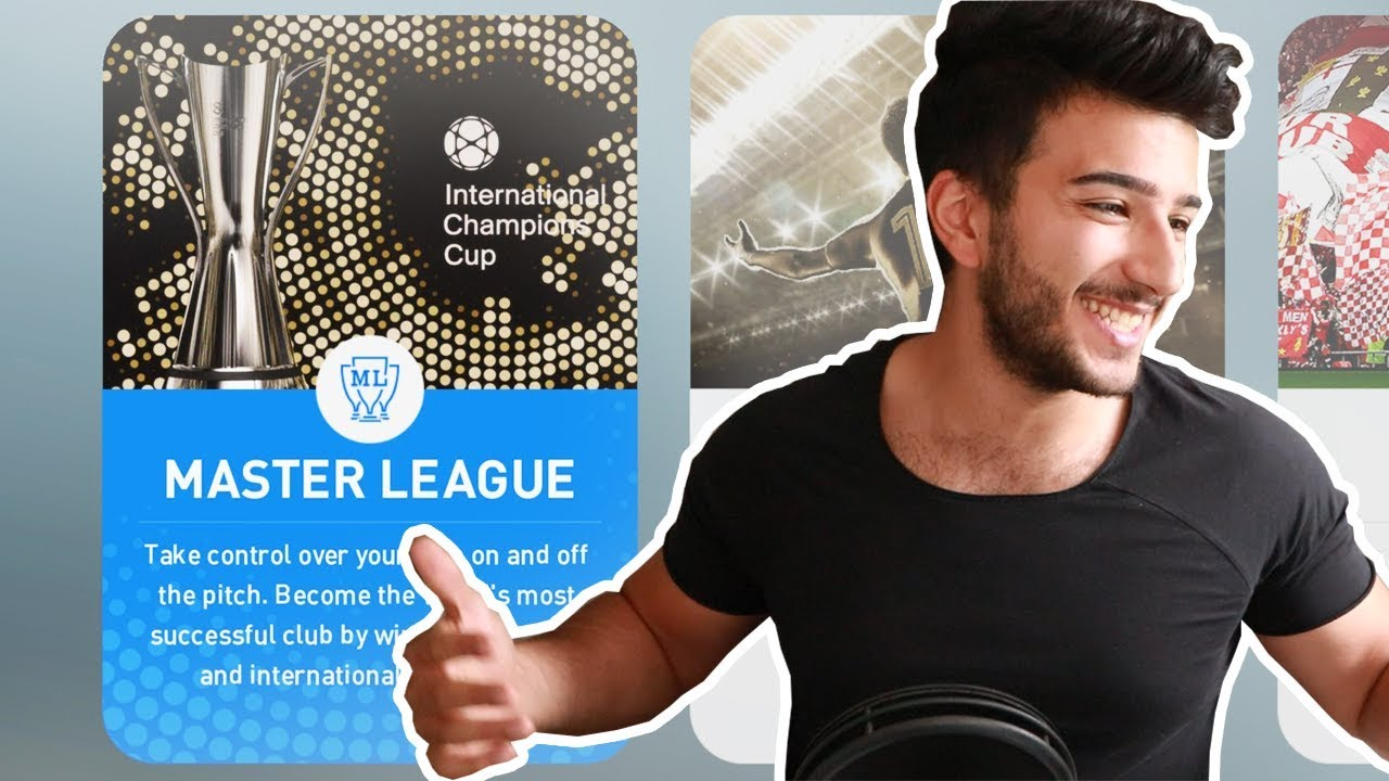 PES 2019 MASTER LEAGUE! - THIS IS WHAT FIFA CAREER MODE SHOULD HAVE BEEN!