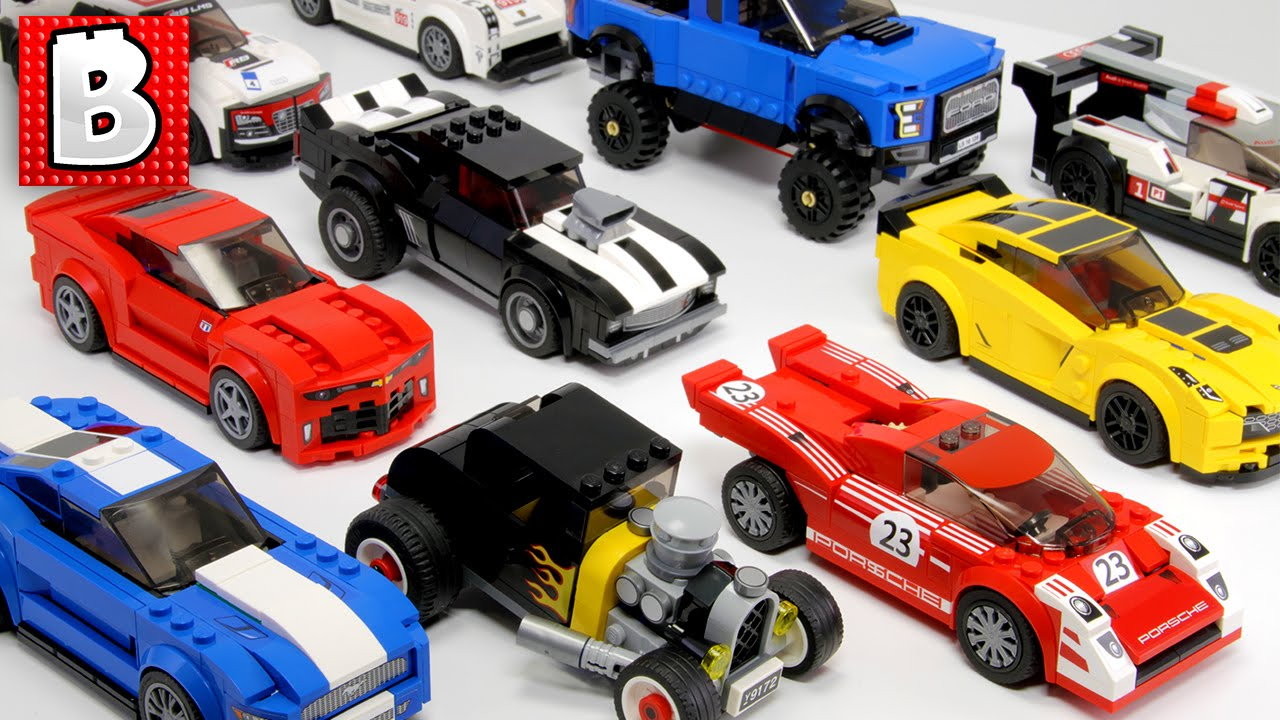 Every Lego Speed Champion Car For 2016 Comparison