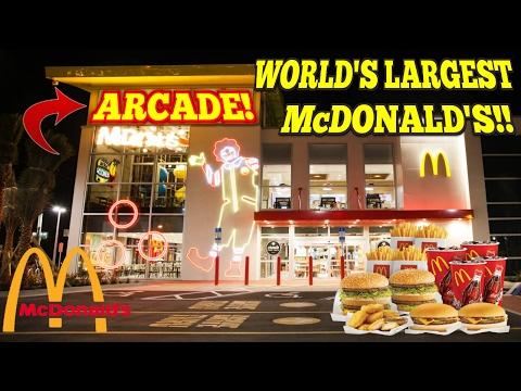 Worlds Largest Mcdonalds Arcade Key Master Win