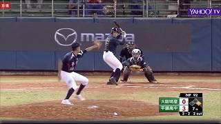 20171225 台日青棒對抗賽 大阪明星@平鎮高中 李晨薰先發逐球