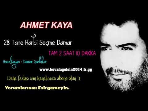 Ahmet Kaya 28 Tane Seçme Damar Şarkılar