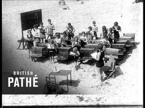 Pleasures Of A Seaside School (1917)