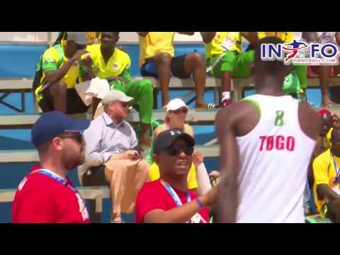 #infohandball African Beach Games Tunisia vs Togo final