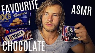 Dunking Chocolate Biscuits  - Crinkle Heaven ASMR