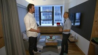 Take a tour of WeLive's New York City apartment