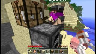 Minecraft äventyr Skeppsbruten (Del 1)