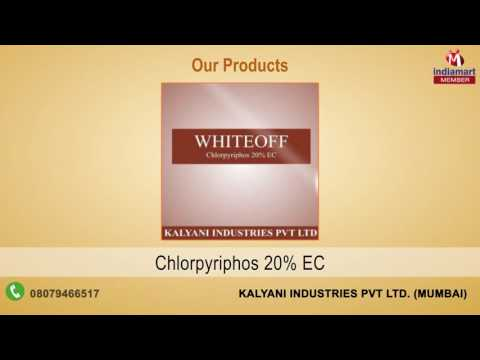 Pesticide and Insecticides By Kalyani Industries Pvt Ltd., Mumbai