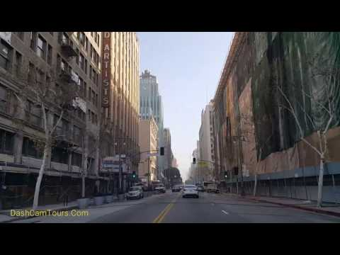 Los Angeles Driving Tour 2017: Johnny Depp Penthouses in Downtown LA