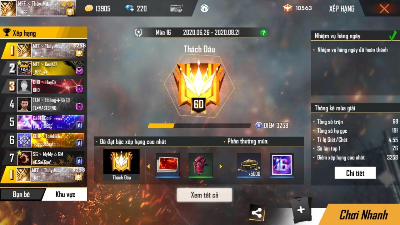 🔴Live Free Fire | Ao Làng TOP 1 111KC.AE Buổi Sáng Tốt Lành Nhé | Mít Mobile