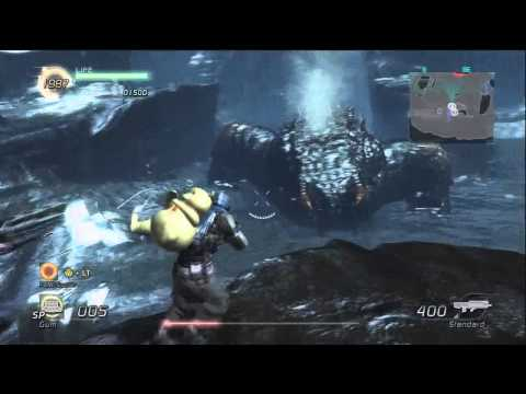 3 Best Friends play LOST PLANET 2! Part 2 - Enter the Salama