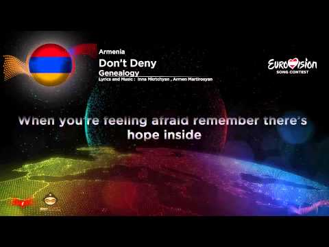 Genealogy – Face The Shadow {Dont Deny} (Armenia) Eurovision Song Contest 2015