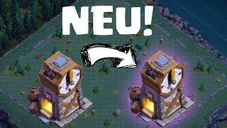 DER NEUE UHRENTURM! || CLASH OF CLANS || Let