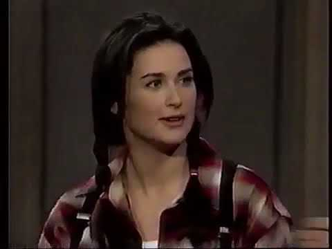 Demi Moore interview with David Letterman 94 - YouTube