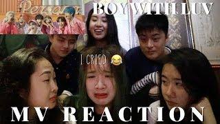 [MV REACTION] BTS  (방탄소년단) - BOY WITH LUV  [防彈少年團BOY WITH LUV MV反應] | sannie