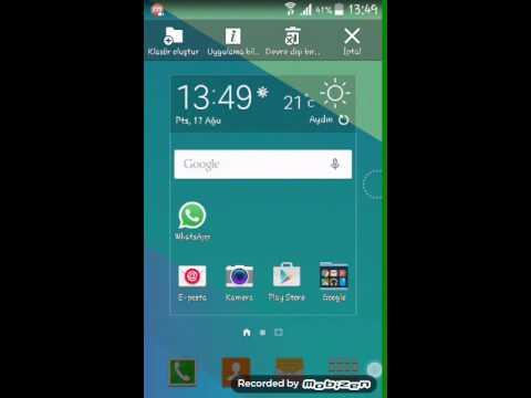 Telefon tablette ekran görüntüsü alma