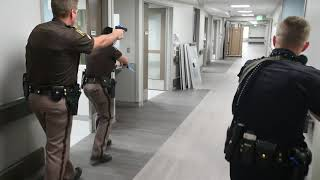 Active shooter drill at Henry Ford Allegiance Health