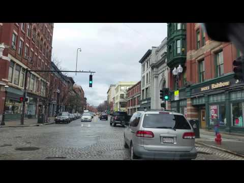In downtown Lowell Massachusetts
